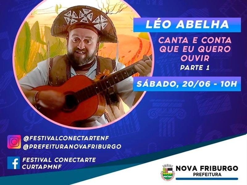 Léo Abelha - Festival Conect Arte