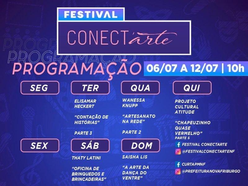 Festival Conect Arte - Live