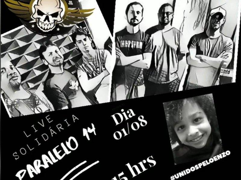 Live Solidária - Paralelo 14 #unidospeloenzo