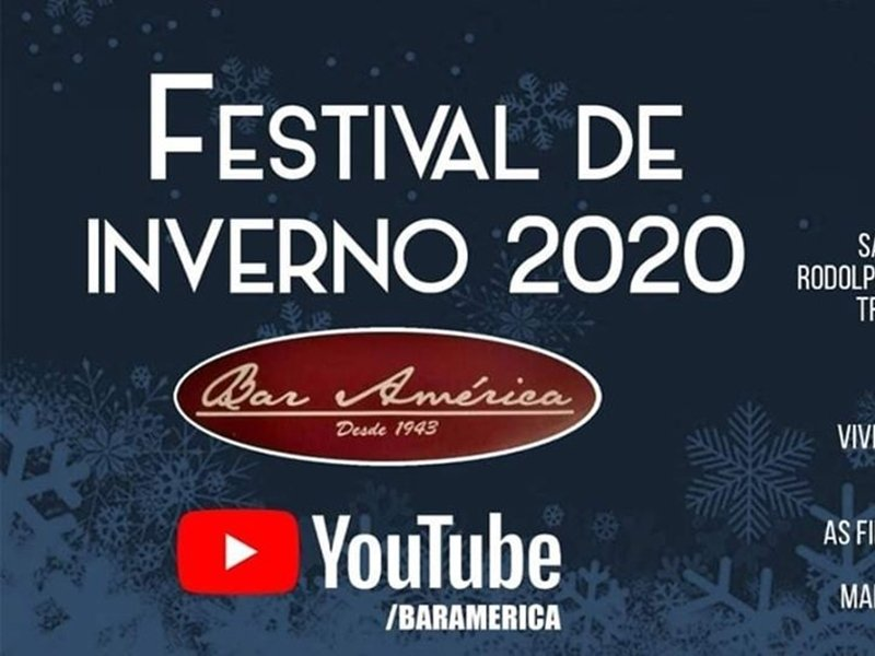 Festival de Inverno Virtual - Bar América