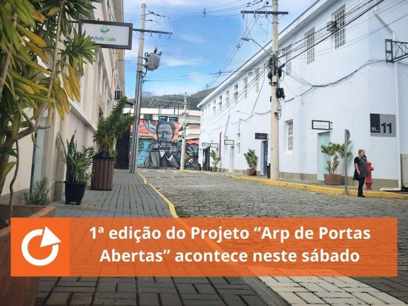 """1ª edição do Projeto """"Arp de Portas Abertas"""" acontece neste sábado"""