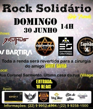 Rock solidário Help friend