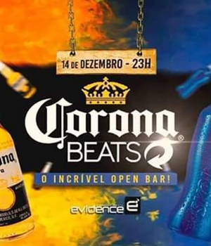 CoronaBeats • Full Open bar •
