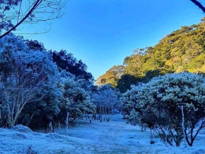 Nova Friburgo registra menor temperatura do ano e sensação térmica fica abaixo de zero