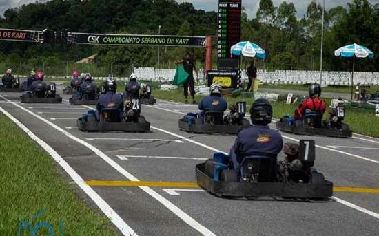Pilotos friburguenses buscam apoio para participação no Campeonato Brasileiro de Rental Kart