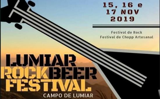 Lumiar Rock Beer Festival acontece entre os dias 15 a 17 de novembro