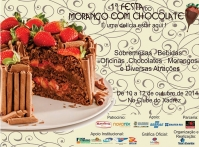 Nova Friburgo realiza em outubro 1�Festa do Morango com Chocolate