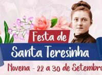 Paróquia de Santa Teresinha dá início à festa da padroeira